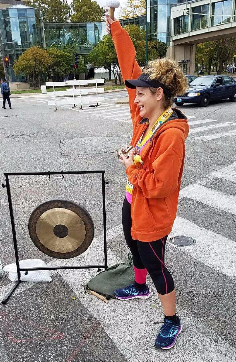 Post-Race Gong